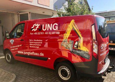 Transporter-Beschriftung, Firmenwagen-Beschriftung