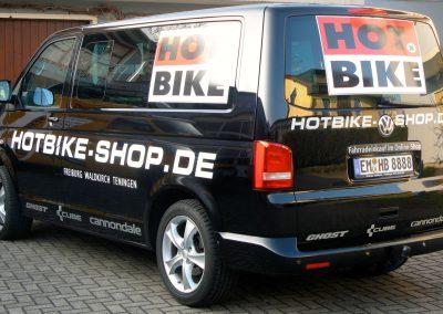 Beschriftung Firmenfahrzeug, Transporterbeschriftung