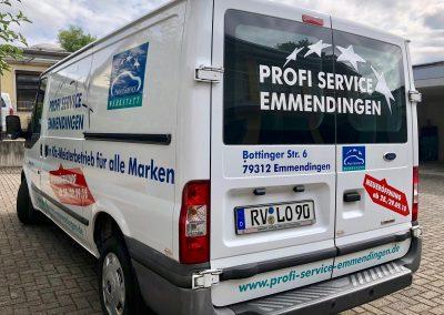 Fahrzeugwerbung, Transporter Werbung
